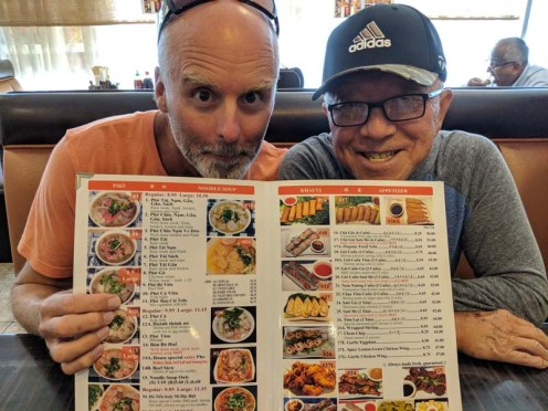 Thai food in San Diego with the Papa