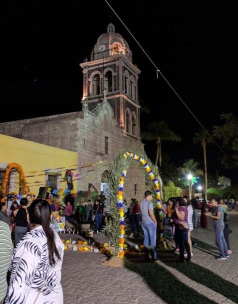 Dia de los Muertos celebration in Loreto