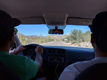 Road trip to San Javier with Dave and Grant