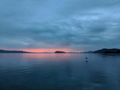Sunrise from Playa Escondida