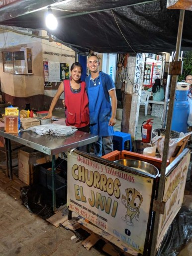 The best churros in Mexico