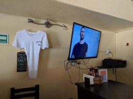 A little Adam Levine at the La Cruz Inn