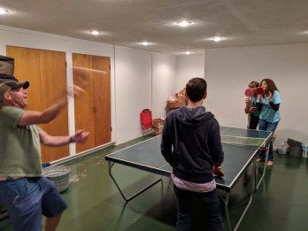 Around-the-world ping pong