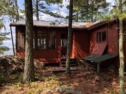 The quaint little cabin on Rainy