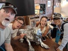 Giant, silver iguana anyone?