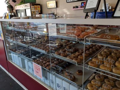 Court's favorite donut shop - they serve vegan versions on Sundays