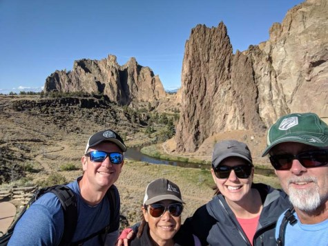 Smith Rock State Park - a stunning, rock climbing haven