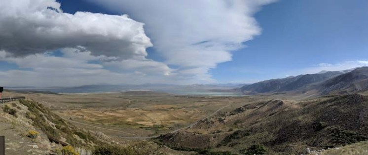 Looking south toward Mono Lake