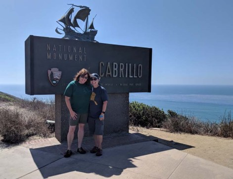 Visit to Cabrillo in sunny SD