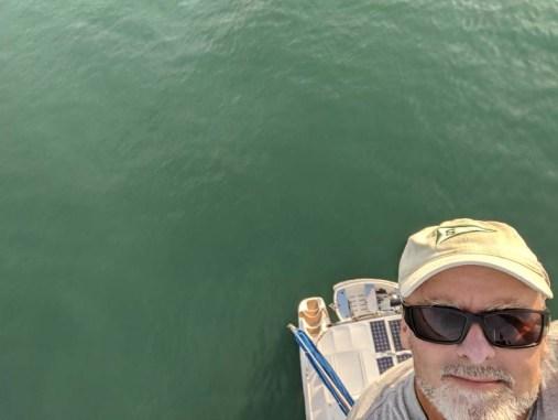 Mast-height selfie