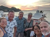 Sunset with the crew of Follow You