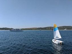 Sailing CD on Tenacatita BAy