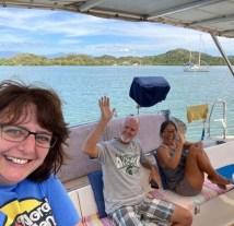On da boat! (PC Vannie)