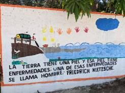 Wall art in Caleta de Campos, too