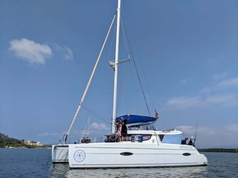 S/V Winston - formerly our buddy boat, She's No Lady