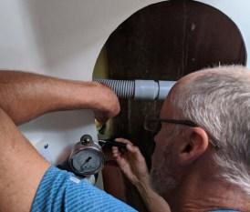 Fixing a propane leak - yikes!