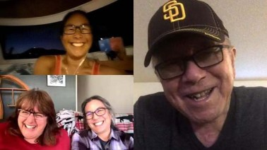 Time with Pop and the Alaska contingent