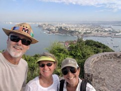 Deb visits for some hiking (El Faro, Maz) and sailing, October 2019