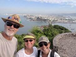 Deb visits for some hiking (El Faro, Maz) and sailing, October 2019