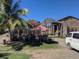 A visit to the local (demonstration) distillery near Tenacatita, January 2020