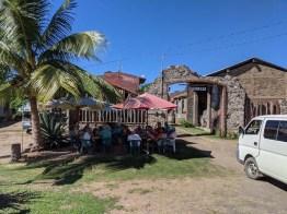 A visit to the local (demonstration) distillery near Tenacatita, January 2020