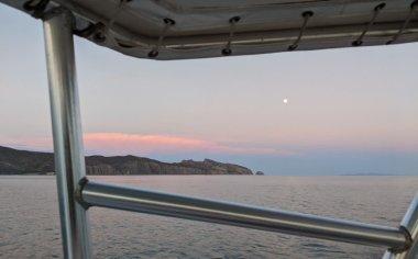 Moon rise over Salinas