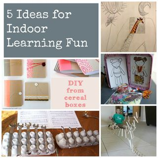 5 Ideas for Indoor Summer Learning Fun