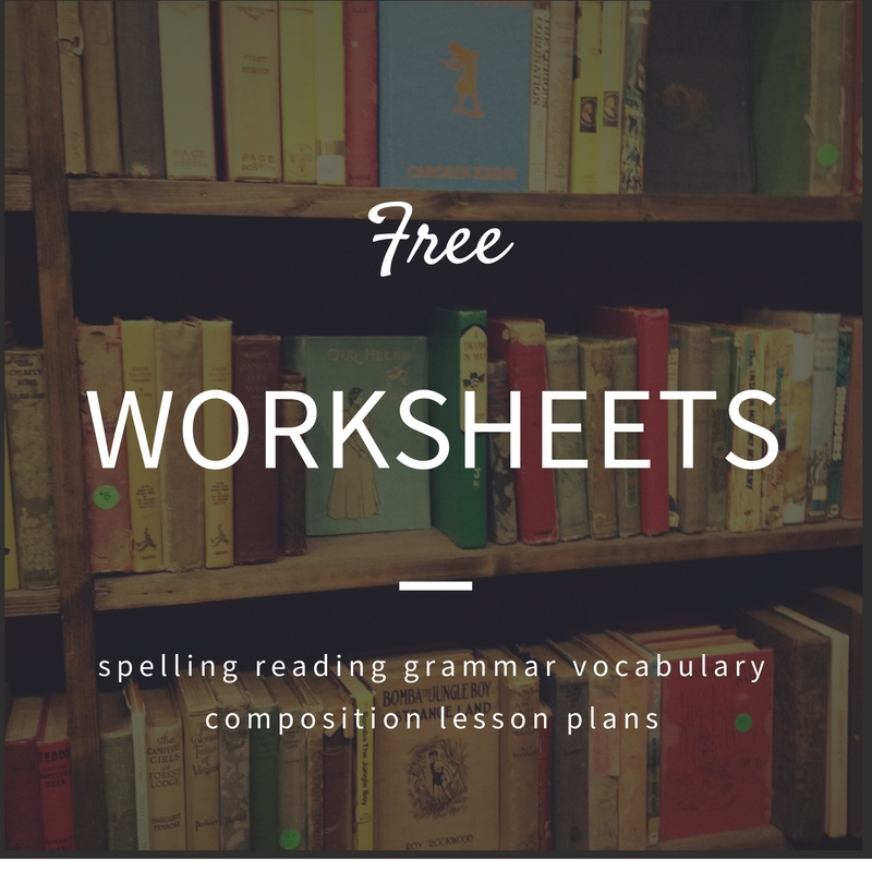 Worksheets for Homeschoolers (some include 36-week plans)