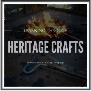 learning academics through heritage crafts