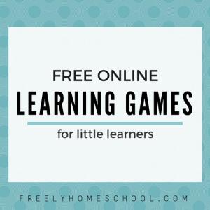 A Favorite Freebie: Learning Games for Preschool ...