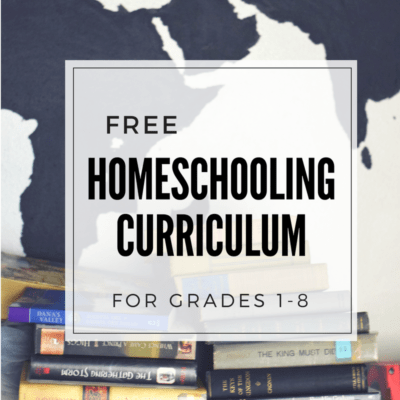 Free Homeschool Curriculum for Elementary and Middle School Grades (including Daily Lessons!)