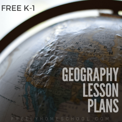 Around the World in 28 Weeks: Free Geography Lesson Plans for Kindergarten