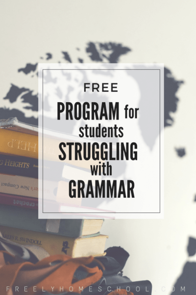 Free Grammar Curriculum for Students Struggling