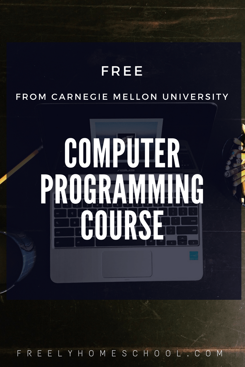 Free Computer Programming Course for High School Students