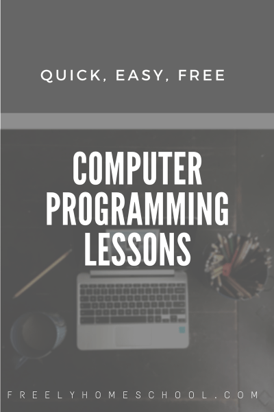 Free Computer Programming Lessons