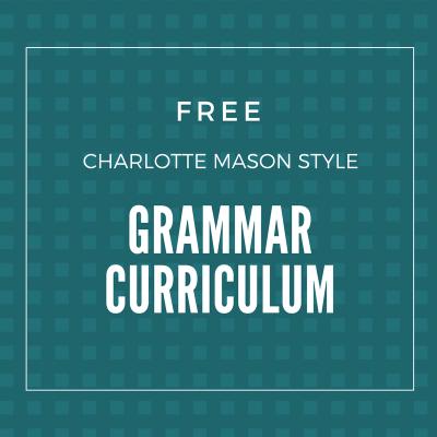 Free Grammar Curriculum for Elementary, Middle, & High School