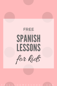 Free Spanish Lessons for Kindergarten & Elementary Students (K-2nd)