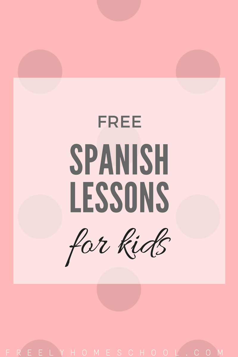 free spanish lessons for kindergarten elementary students k 2nd