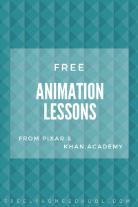 Free Animation Lessons (& Math Lessons through Animation!) for 5th-12th