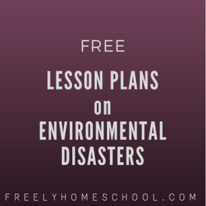 free lesson plans on environmental disasters
