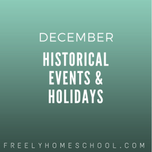 december historical events