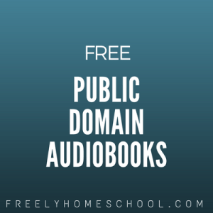 free public domain audiobooks