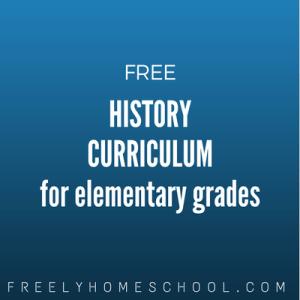 free elementary history curriculum