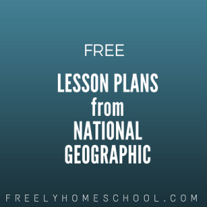 free lesson plans from National Geographic