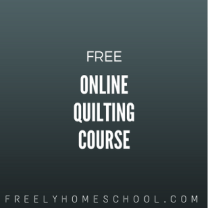 free online quilting course