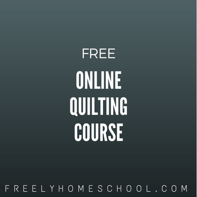 Teaching Practical Skills? Here's a FREE Year-Long Block of the Month Quilting Course!