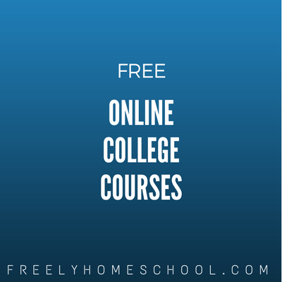 Here is a List of Free College Courses for Fall 2014