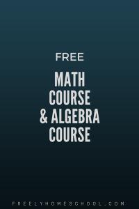 math and algebra course