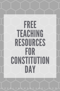 teaching freebies for constitution day