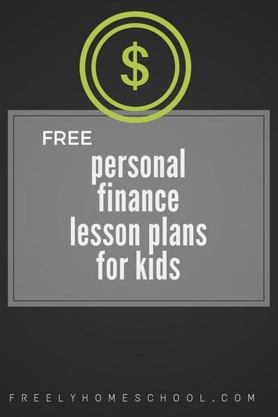 personal finance lesson plans